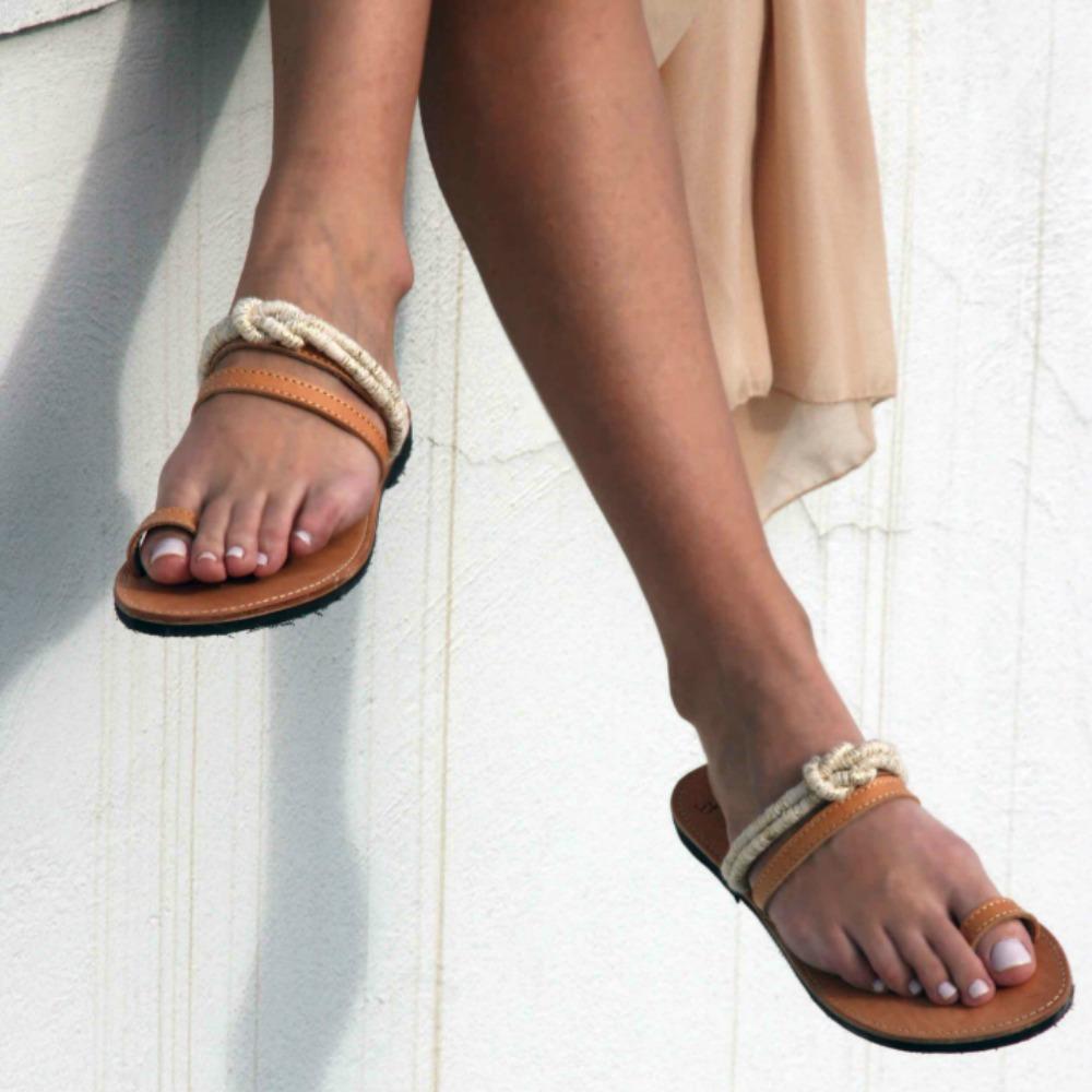 13421420b57 Folegandros Toe Ring Sandals – Eleanna Katsira Accessories